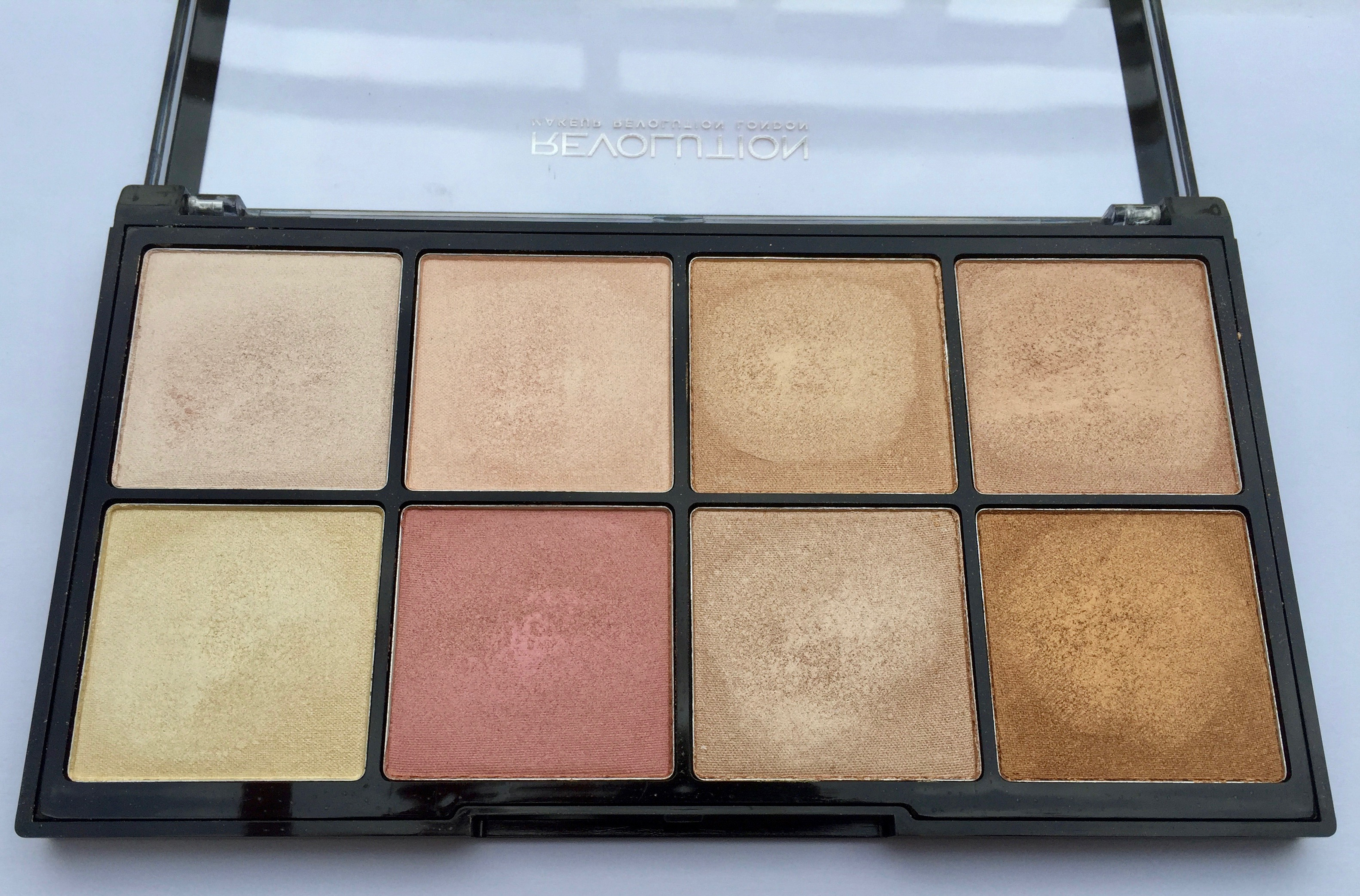 Makeup Revolution Ultra Pro Glow Palette Review Makeup Makes Me Smile